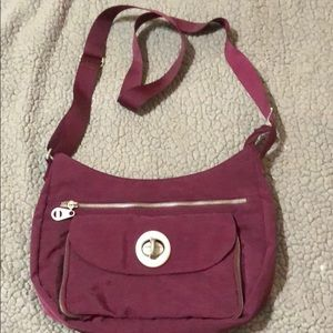 Baggallini Burgundy Crossbody New